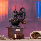 Manual Coffee Grinder Antique Cast Iron Hand Crank Coffee W/ Wood Drawer Vintage