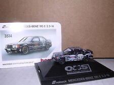 "Herpa #3514 Mercedes 190E 2.3-16 Snobeck #12 Racing Coupe ""Black"" H.O.Gauge"