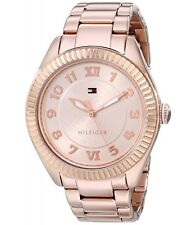 TOMMY HILFIGER DRESS ROSE GOLD DIAL ROSE GOLD ST.STEEL WOMEN'S WATCH 1781344 NEW