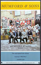 MUMFORD & SONS Babel Discontinued Ltd Ed New RARE Poster +FREE Indie/Folk Poster