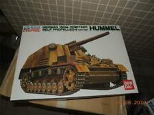 BANDAI R/C TANK 1/15 GERMAN 150MM HOWITZER SELF PROPRLLED 4 HUMMEL kit