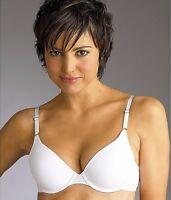 New Bra, Maidenform, 1-Fabulous-Fit T-Shirt White Underwire 7959 MSRP-$38.00 38D