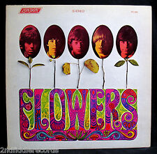 THE ROLLING STONES-FLOWERS-Great Stereo 1st Pressing-LONDON #PS 509-Bell Sound