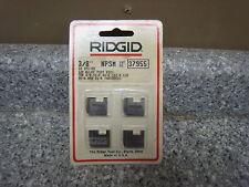 "Ridgid 37955 3/8"" NPSM Right Hand Pipe Dies 12-R 00-R 111-R New"
