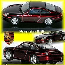 Porsche 911 Tipo:996 1997-2006 rosso rosso metallizzato 1:43 Schuco