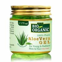 Indus Valley Bio Organic Non-Toxic Aloe Vera Gel for Acne, Scars & Glowing Skin