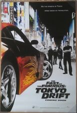 THE FAST AND THE FURIOUS TOKYO DRIFT MOVIE POSTER 2 Sided ORIGINAL 27x40