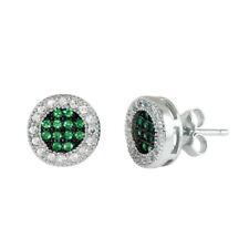 1.00 Ct Round Cut Diamond 10k White Gold Stud Earrings