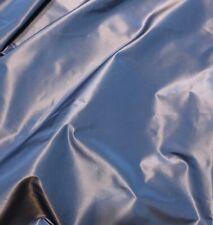 SCALAMANDRE Blue Rust Iridescent Silk Remnant New