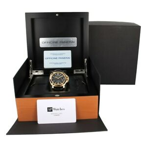 Genuine Panerai Luminor Officine Watch Presentation Box Wood Case VIP Gift 1850