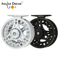 AnglerDream 1/2 3/4 5/6 7/8WT Fly Reel Large Arbor Aluminum Fly Fishing Reels