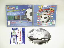 3do Real Panasonic V Goal Soccer 96 GOOD Condition with SPINE * Japan Game 3d