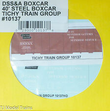 Tichy Train Group #10137 Decal for: Duluth, South Shore & Atlantic 40' Steel Box