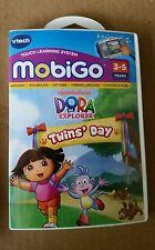 Vtech MobiGo Game Dora the Explorer Twins Day 3-5 Years Free Shipping