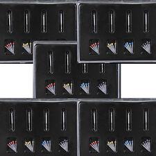 5 Box PERNI IN FIBRA DI VETRO ODONTOIATRICI Dental Fiber Post Resin Glass