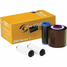 Genuine Zebra 800077-740 YMCKO ZXP 7 Color Ribbon - 250 Prints - New