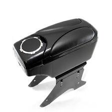 Universal Car Armrest Arm Rest Centre Console Leather Box Cup Holder Black