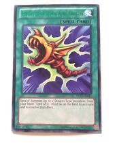 YuGiOh The Flute of Summoning Dragon DL17-EN013 (GREEN) Duelist League Card New