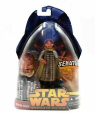 Star Wars Kit Fisto Revenge of The Sith Collectable Carded Figure 2005