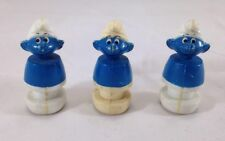 illco Smurf Blue Character Figures Vintage Lot of 3 People