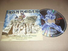 IRON MAIDEN -SOMEWHERE BACK IN TIME- VERY HARD TO FIND ORIGINAL PRO CD RARE EX
