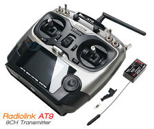 Radiolink 2.4G AT9 R9D Radio Control System 9CH Transmitter & Receiver TX Mode 2
