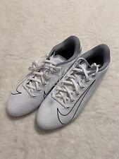 Nike Men's Vapor Edge Team Football Cleats Cz2606 (White/Wolf Grey) Sz 9.5 Nwob
