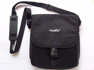""" ROCSTOR ""Data Storage Carrying Bag Canvas Black #23"