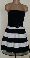 Clubwear Striped Cocktail Dresses for Women