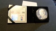 MICHAEL JORDAN CHICAGO BULLS 1.5 OZT .999 FINE SILVER ROUND HIGHLAND MINT COIN