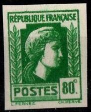 1 MARIANNE d'Alger -Non Dentelé 80c, Neuf ** = Cote 70 € / Lot Timbre France 636