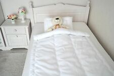 Babyset Decke mit Kissen Sommerset Baby Kinder Set Wellensteppung 100x135 40x60