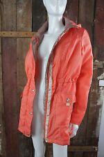 Helena vera giacca * * transitorio autunno primavera * Orange * Beige Taglia 36/38