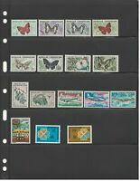 MATT'S STAMPS LOT OF 30 CENTRAL AFRICAN REPUBLIC STAMPS MNH/MH/USED  CV$30