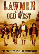 Lawmen of the Old West (DVD, 2014, 2-Disc Set) 6 Part Documentary