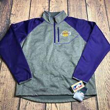 Carl Banks Youth Large Los Angeles 1/4 Zip Pullover Raglan Style Logo Jacket NEW