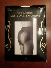 Victoria's Secret Sensual Shapers Pantyhose  White  Medium  Up To  6'  & 190 Lbs