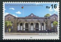 Mauritius Architecture Stamps 2020 MNH Historical Postal Building Flags 1v Set