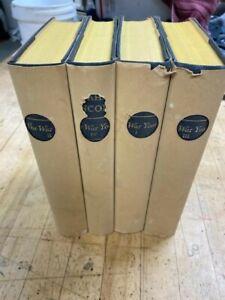 Abraham Lincoln The War Years by Carl Sandburg 4 Volumes