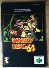 Donkey Kong 64 N64 Nintendo game manual