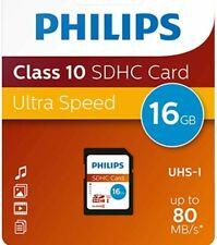 Philips 16gb 32gb  Micro SD Class 10 UHS-I Tarjeta de Memoria 80MB/s
