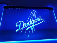 "Los Angeles Dodgers 12"" x 8"" Inch Led Neon Sign bar mancave pub"