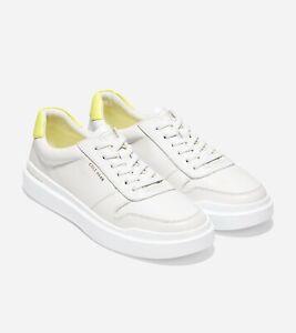 Cole Haan GrandPrø Rally Court Sneaker Yellow Size 8 NIB