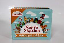 Ukrainian Magnetic Puzzles Map of Ukraine 24 Oblasts & Crimea Games for Kids