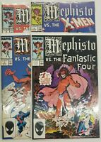 MEPHISTO VS #1-4 COMPLETE SET ~ VF-NM 1987 MARVEL COMICS ~ JOHN BUSCEMA ART