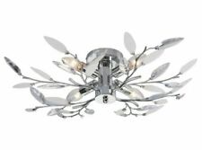 The Shade Boutique Willow 4 Semi Flush Chandelier - Chrome