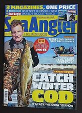 Sea Angler, Issue 461, Inc Boat Angler, Catch Winter Cod, Using Soft Baits