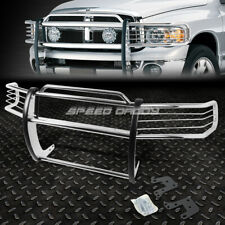 FOR 94-01 DODGE RAM 1500-3500 CHROME STAINLESS STEEL FRONT BUMPER GRILL GUARD