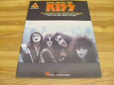 The Best Of KISS Guitar Tab Song Book Hal Leonard