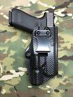 Carbon Fiber Kydex IWB Holster for Glock 17 22 31 Surefire X300 Ultra B Model